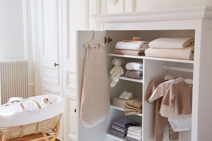 La chambre de bébé le berceau Jacadi #bébé #chambrebebe #naisance #gigoteuse