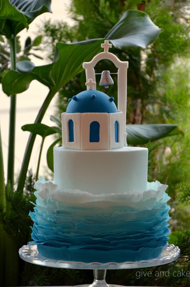 greek inspired wedding cakes thirty five 14944