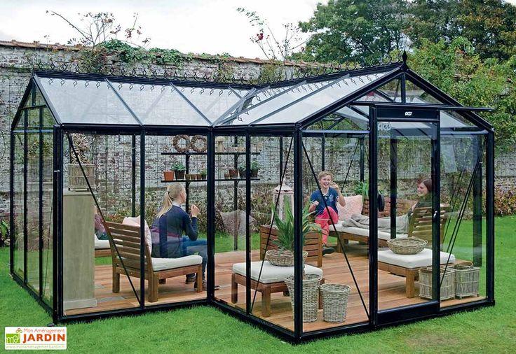 Serre de Jardin Orangerie 15,40 m²