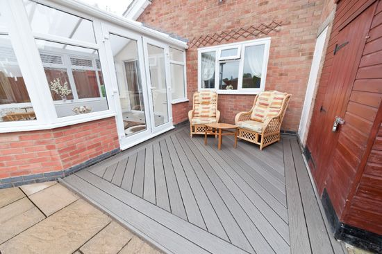 25 best ideas about composite decking uk on pinterest for Compare composite decking brands