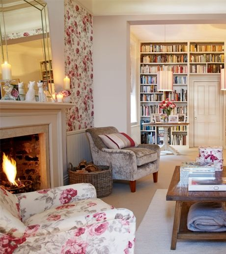 Collection - Heaven Scent - Laura Ashley - Country Livingroom