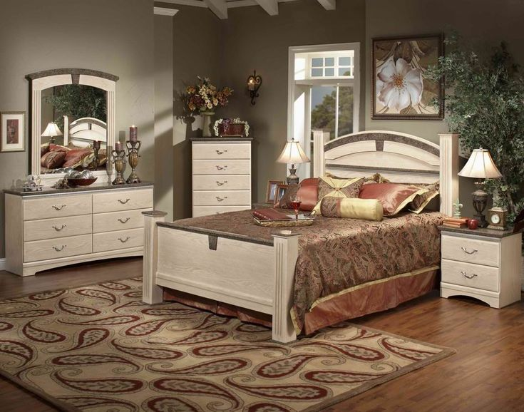 STYLE   42100 LA JOLLA ESTATE WHITE WASH COLOR  7 PC BEDROOM SET ALSO  AVAILABLE. 28 best BEDROOM images on Pinterest