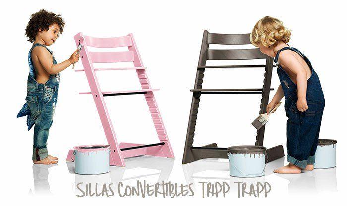 Dat ik daar nooit aan gedacht heb. Tripp trapp stoel in een leuke kleur verven...