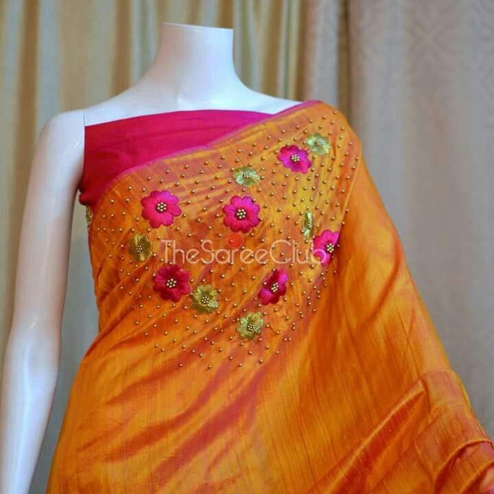 Best designer sarees images on pinterest saree