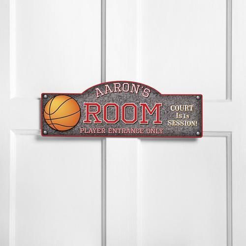 Boy Girl Teen Decor Sports Basketball ROOM Personalized