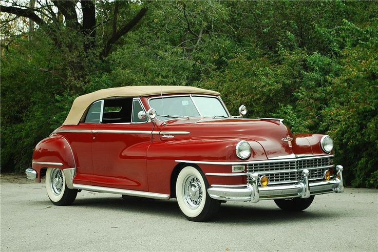 1947 CHRYSLER WINDSOR Lot 750 | Barrett-Jackson Auction Company