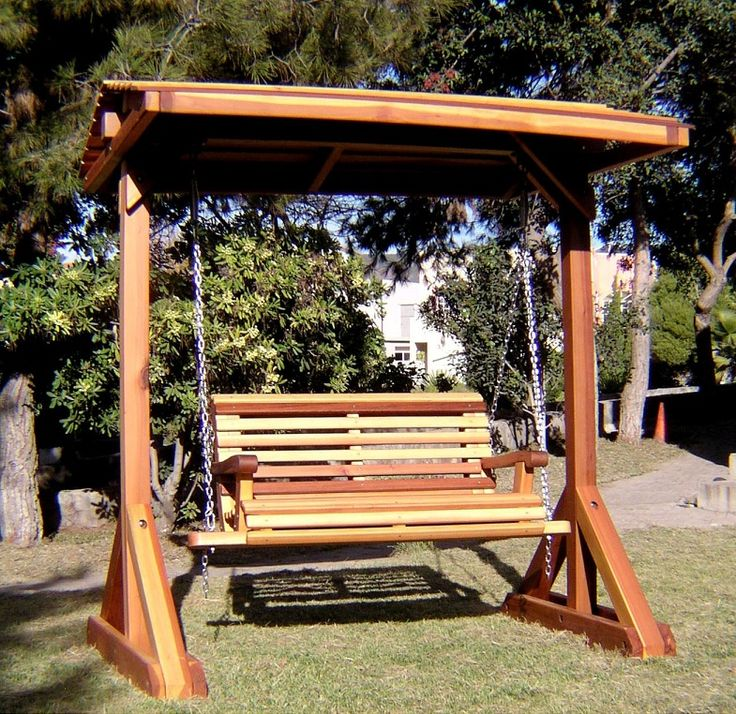 Nice Bench Swing Sets, Built To Last Decades | Forever Redwood | Home  Inspiration: Yards | Pinterest | Bench Swing, Free Standing Pergola And  Pergola Swing