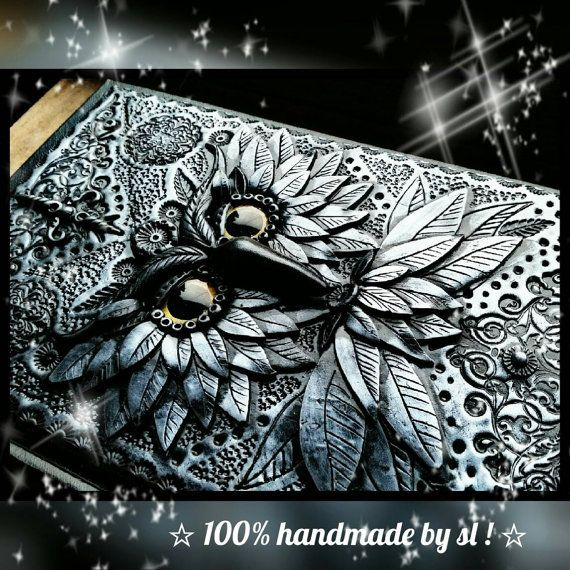 BOS Book of shadows Notizbuch Tagebuch DIN A5 von 100handmadebysl