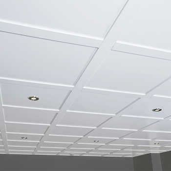 Costco Ca Embassy Suspended Ceiling Kit 80 Sq Ft Pour Salle De Bain Sous Sol Bat Tiles And