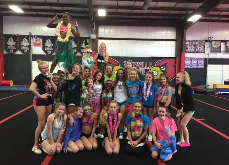 Cheer themed practice- Hawaiian day | Cheer Ideas ...