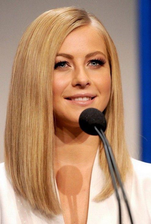 long bob haircuts - blonde lob hairstyle