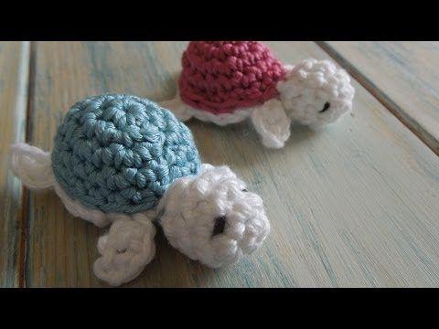 (crochet) How To – Crochet a Baby Turtle – Yarn Scrap Friday