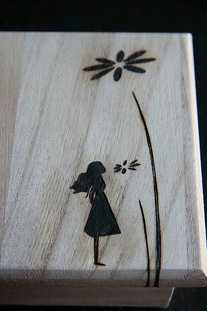 Pyrography Love How Simple This Is Diy Wood Burning
