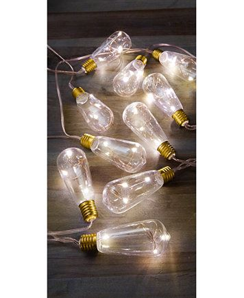Studio Mercantile Novelty Traditional Edison Bulb LED String Lights   macys.com