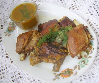 W Mojej Kuchni Lubię.. : szybkowar-baranie żeberka z cząbrem w cebuli...