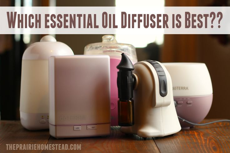 Which diffuser is best? This is the ultimate essential oil diffuser review post!