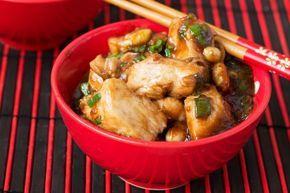 Poulet thaï avec sauce aux arachides à la mijoteuse