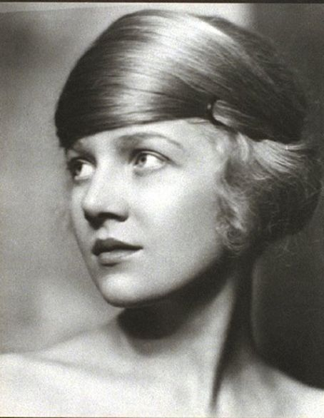 Hairstyle. Actress Ann Harding, 1920s.