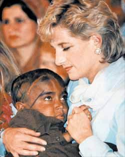 """The worst illness of our time is that so many people have to suffer from never being loved."" Princess Di"