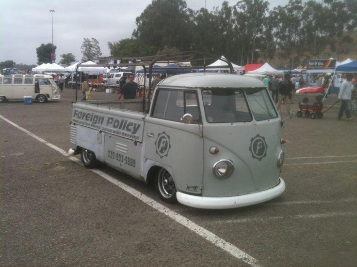 Darrel's slammed VW truck