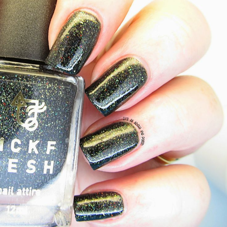 It's all about the polish: MckFresh Nail Attire Goosebumps collection