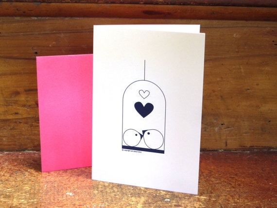 'Ahhh .... Love' by Lark About Stationery