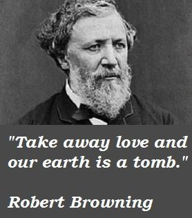 On this day 12th December, 1889 Robert Browning, English poet died. He was buried in Poet's corner in Westminster Abbey. His grave now lies immediately adjacent to that of Alfred Tennyson