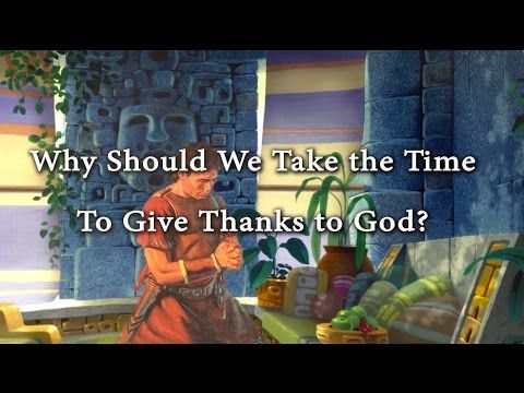 Why Should We Take the Time to Give Thanks to God? Knowhy #238 - YouTube