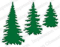 Evergreen Trees - DIE217-E: