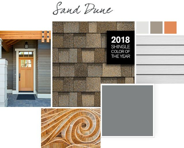 Best 2018 Roofing Shingle Color Of The Year Sand Dune Owens 400 x 300