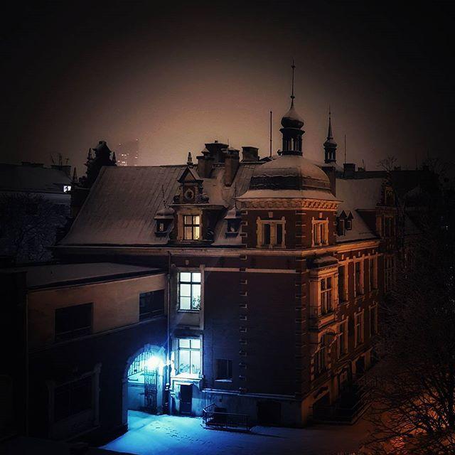 Mój Elsynor #pałacyk #skytower #oldvsnew