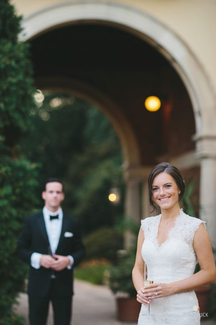 Photography: Readyluck - http://www.stylemepretty.com/portfolio/readyluck Wedding Dress: L'Fay Bridal - www.lfay.com/nj-chatham Groom's Attire: Imparali - http://www.stylemepretty.com/portfolio/imparali   Read More on SMP: http://www.stylemepretty.com/2015/11/24/romantic-evergreen-museum-and-library-wedding/