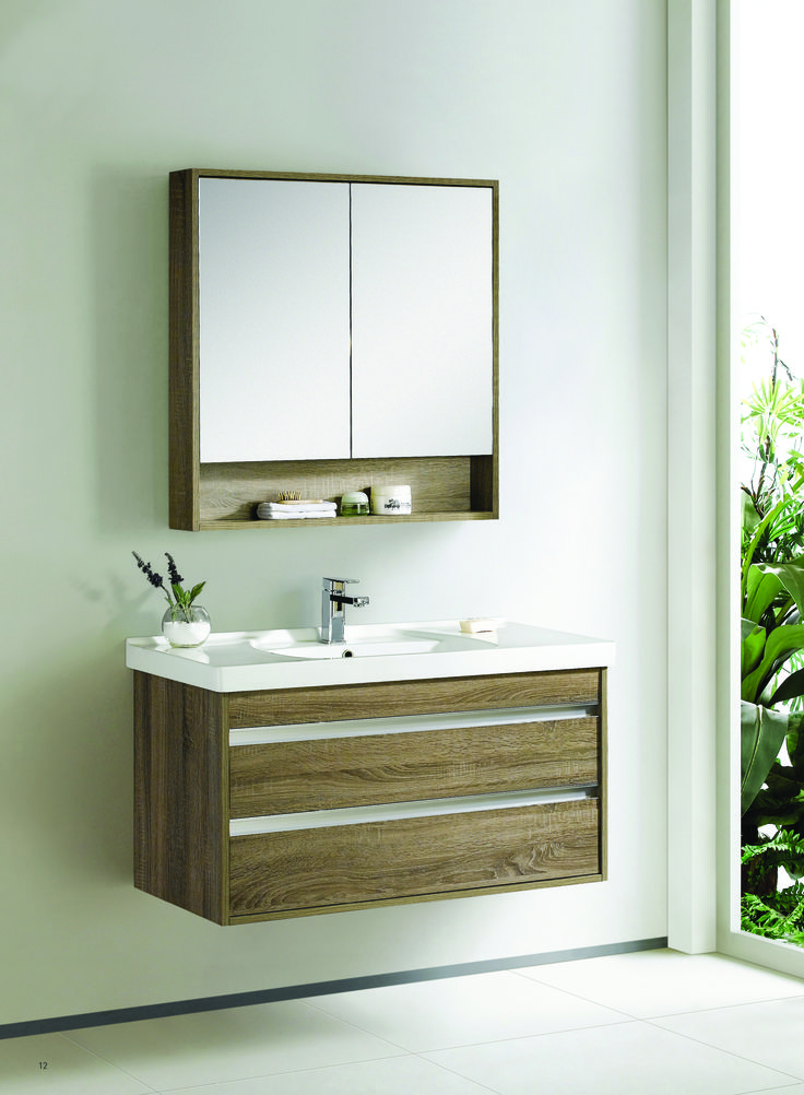 Hutton double draw wall vanity www.earlysettler.com.au