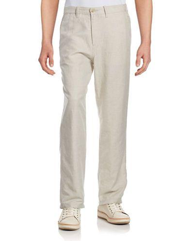 Homme | Tout-aller | Pantalon en lin et coton | La Baie D'Hudson
