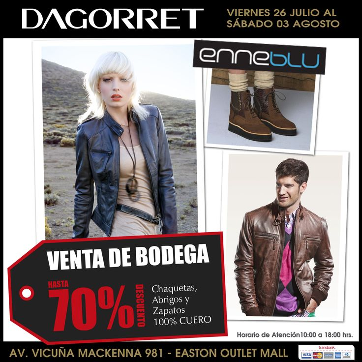 VENTA DE BODEGA Hasta el 3 de agosto !!!  Precios ESPECTACULARES todo 100% CUERO !!!