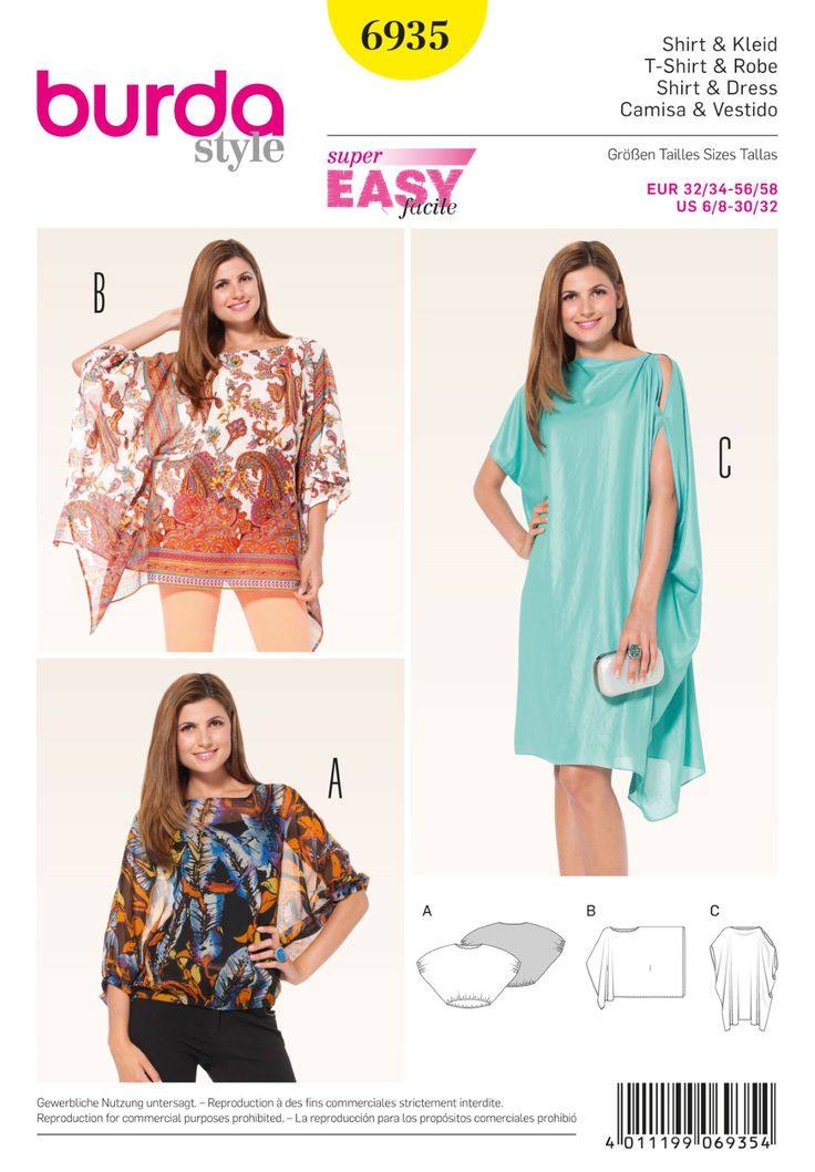 BD6935 Shirt & Dress | Easy