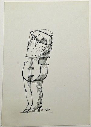 Jules Stauber -Cello Body