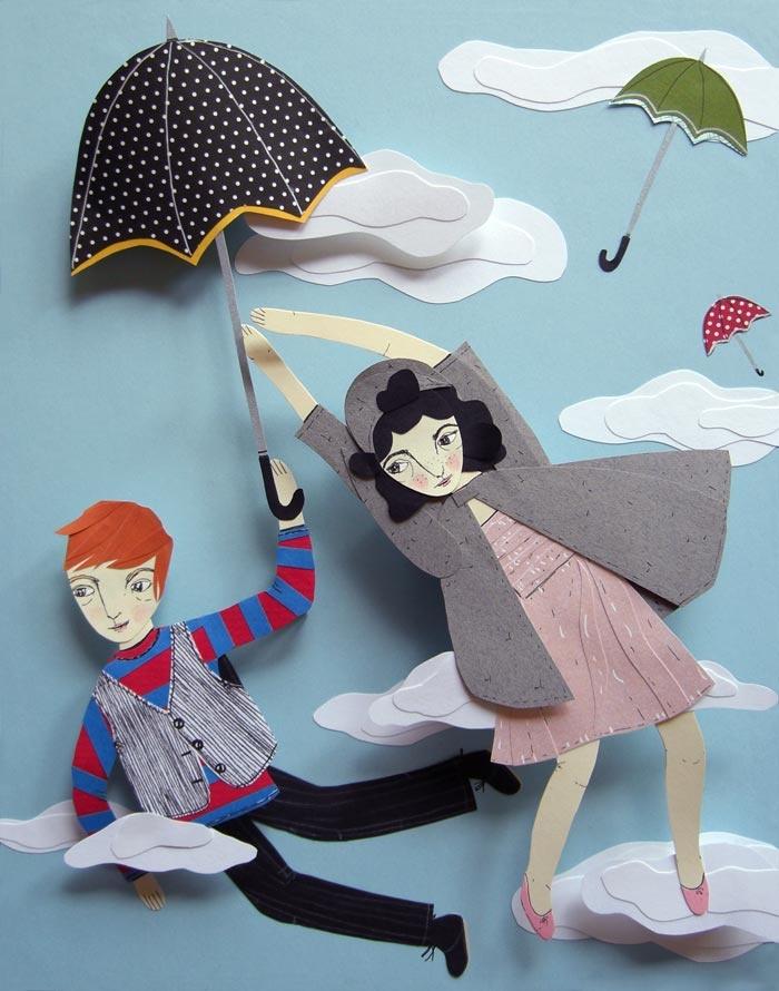 Roadside Projects : Cut Paper Art & Illustration by Jayme McGowan - Portfolio