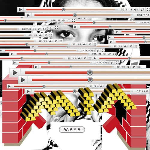 35. M.I.A., /\/\ /\ Y /\ - The 50 Best Rap Album Covers of the Past Five Years   Complex