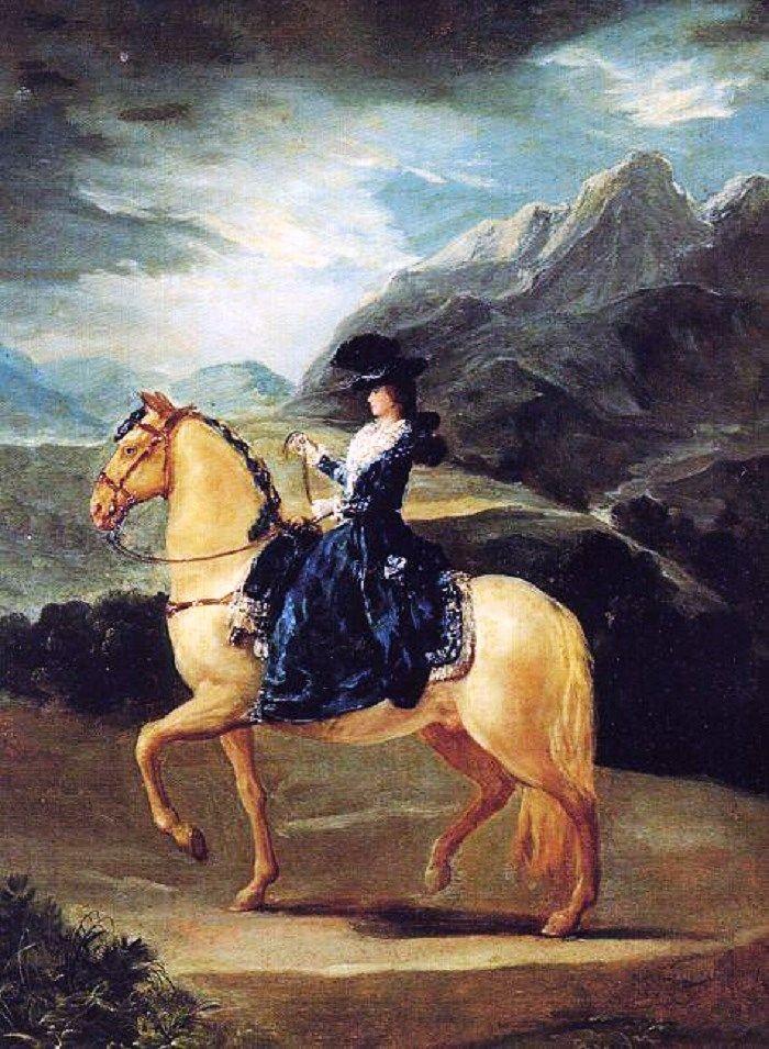 Women by Spanish artist Francisco José de Goya y Lucientes 1746–1828