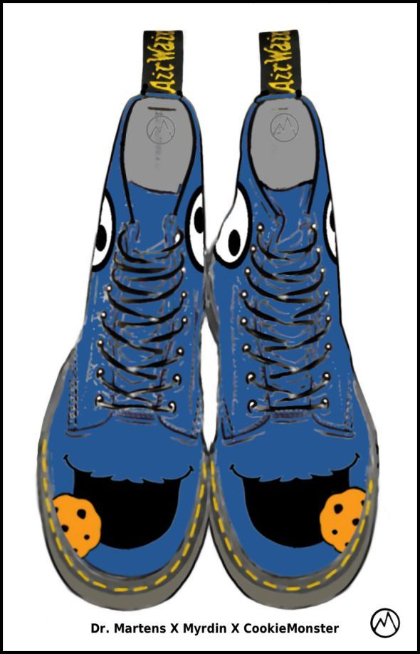 Dr. Martens Design-a-boot designs by Myrdin 2016/2017 | Planet M.