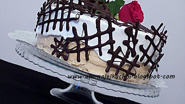 Abc Mojej Kuchni: Tort orzechowo - kawowy - Gołąbek♥