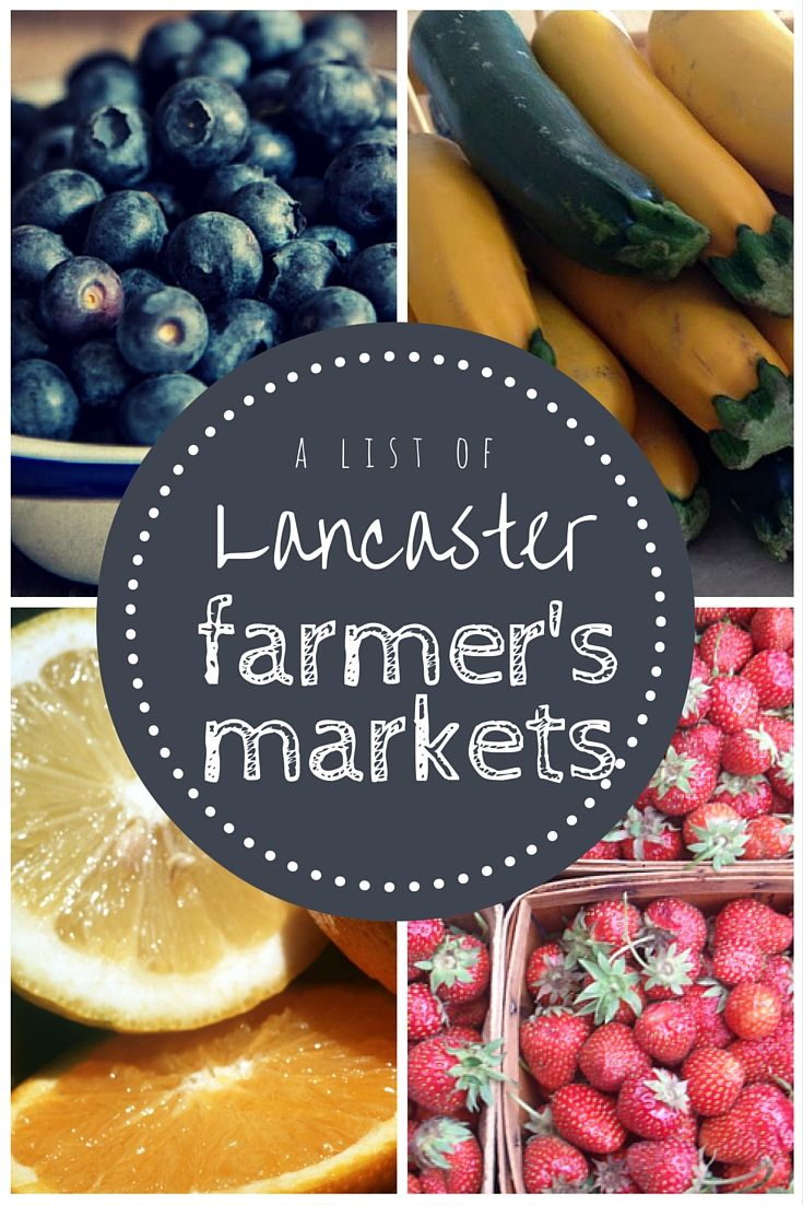 Lancaster County - Amish Country. So many farmer's markets! You can make a day trip just hitting up farmers markets and fresh food stands. Find out from a local where they are and what they are best known for!