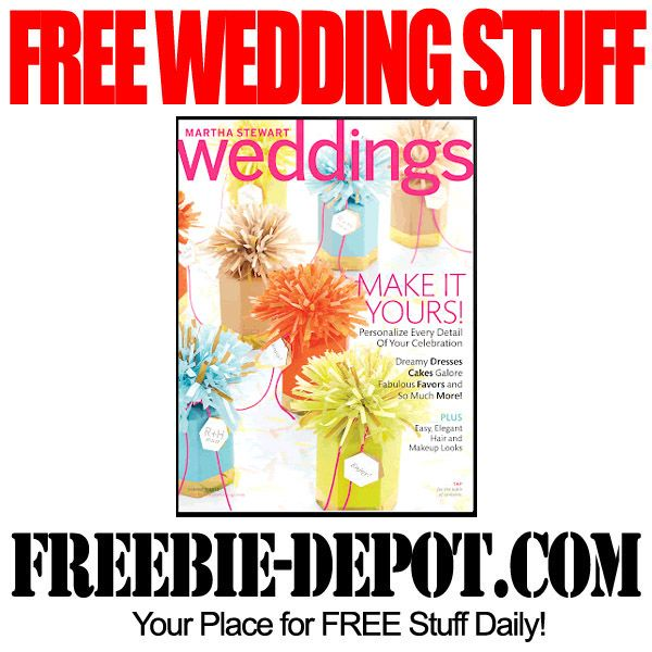 FREE WEDDING STUFF – Martha Stewart Weddings Magazine