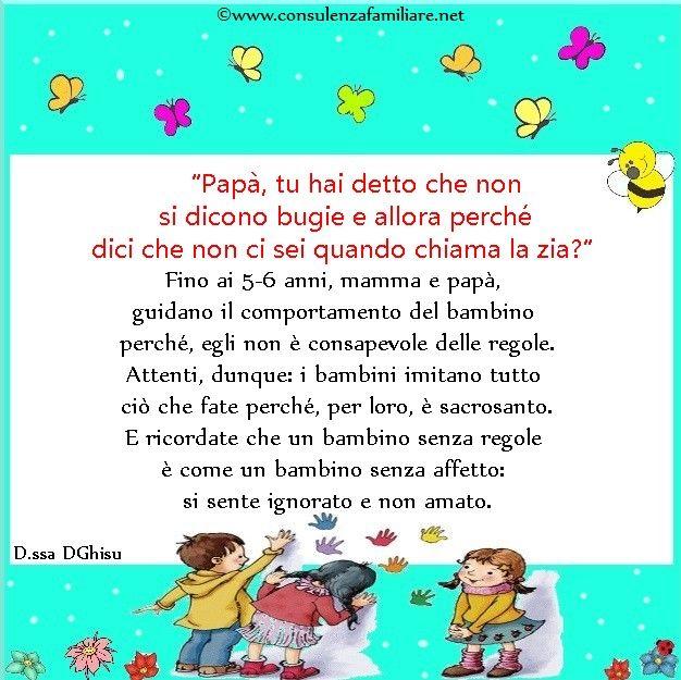 Il #bambino senza regole è come un #bambino senza affetto e considerazione.  #educazione #figlio #crescita #infanzia #puerperio #genitori #psicologiadellinfanzia #mamme #bambini #famiglia #papà #consulenzagenitoriale #psicopedagogia #dssaDGhisu