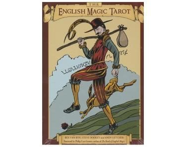 The English Magic Tarot - A relatively new tarot deck.  The authors have carried out extensive research in to the Elizabethan-era in England.  The cards illustrate characters such as knight, highwaymen, fools, and the monarchs.      A deck with knowledge and depth that brings out a magical element in spirituality. One of our favourites!