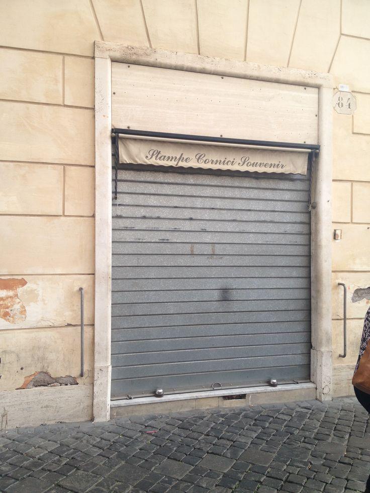 Audrey Hepburn's haircut shop near the Trevi fountain in Roman Holiday