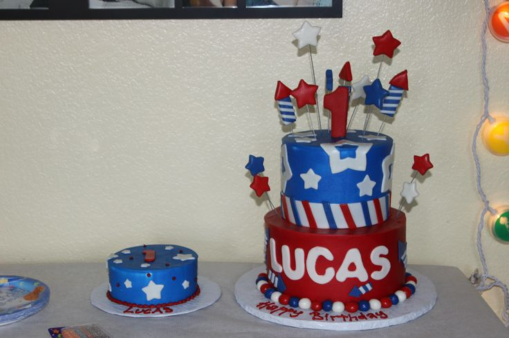 july 4th birthday cakes