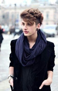 Scarf and blazer combo