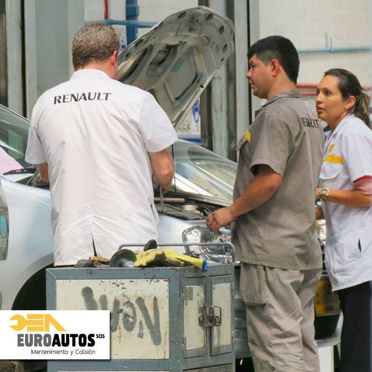 Si tu #Renault tiene menos de 10 años y tienes una reparación que realizarle, o simplemente deseas hacerle mantenimiento, #EuroautosRenault es el sitio indicado para traerlo!